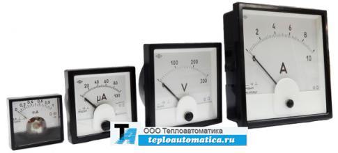 Амперметры и вольтметры Э42700, Э42701, Э42702, Ц42302, Ц42300, Ц42702