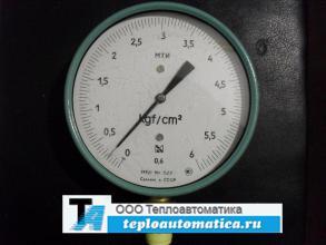 Манометр точных измерений МТИ, 0-6кгс/см2, кл.-0,6
