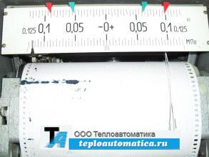 Распродажа регистрирующий прибор РП-160-09, 0-1,6мПа (0-100,0-400см, -+0,125мПа)
