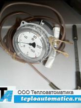 Термометр манометрический газовый ТГП-100Эк-М1-УХЛ4, 0-150*С, 6м, кл.-1, 160-250мм
