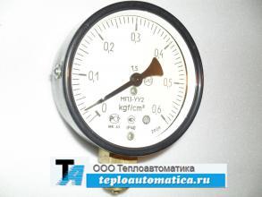 Распродажа Манометр МП3-УУ2, 0-0,6кгс/см2, кл.-1,5