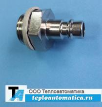 Быстроразъемный штекер (штуцер) KS4-1/2-A арт. 531676