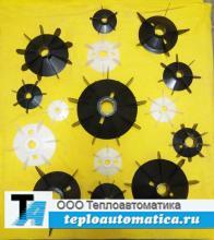 Вентилятор обдува (крыльчатка охлаждения) для электродвигателя