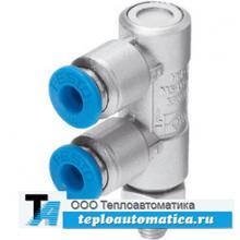 обратный клапан с управляющим пневматическим сигналом