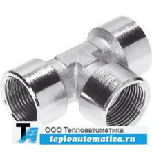 Резьбовые фитинги из никелированной латуни стойкие к механическим нагрузкам
