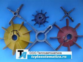 Распродажа Крыльчатки (вентиляторы) охлаждения электродвигателей АИР, 4АМ, АО, ВЗБ