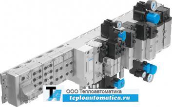модульный многофункциональный пневмоостров пневматическая электрическая часть электронный блок контроллер металлический корпус
